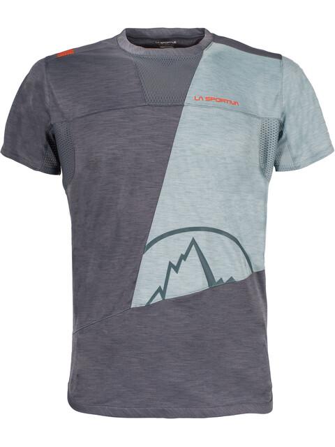 La Sportiva M's Workout T-Shirt Slate/Stone Blue
